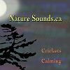 Crickets Calming CD Cover